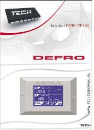інструкція для кімнатного регулятора Defro SP Lux